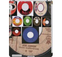 vintage 45's collage iPad Case/Skin