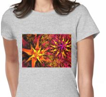 flame cacti Womens Fitted T-Shirt