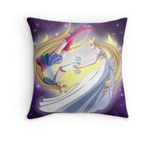 The Soldier and the Princess Throw Pillow