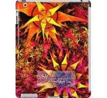flame cacti iPad Case/Skin