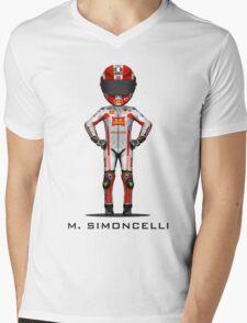 Marco Simoncelli 2011 Mens V-Neck T-Shirt
