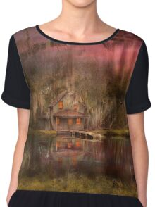 Cabin - De Land, FL - Summer Cottage 1904 Chiffon Top
