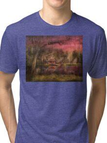 Cabin - De Land, FL - Summer Cottage 1904 Tri-blend T-Shirt