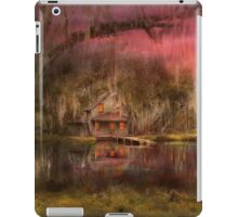 Cabin - De Land, FL - Summer Cottage 1904 iPad Case/Skin