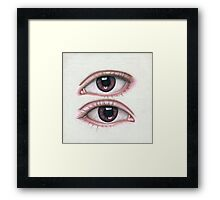 Two Eyes on Top Framed Print