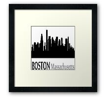 Boston Massachusetts Framed Print