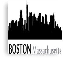 Boston Massachusetts Canvas Print
