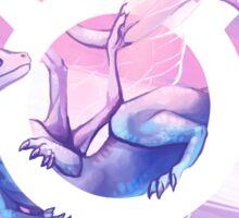 Trans Pride Dragon Sticker
