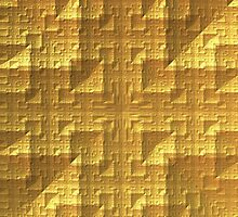 Gold Square Texture/Pattern by Lyle Hatch