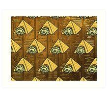 Neko Atsume - Ramses the Great Art Print