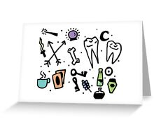 Witch supplies Greeting Card