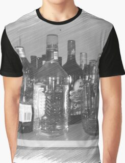 #Drunk Graphic T-Shirt