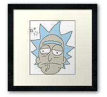 Rick Sanchez Framed Print