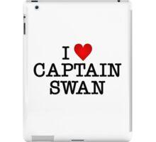 I love Captain Swan iPad Case/Skin