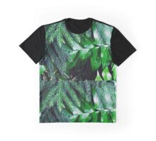 Dark Greenery Graphic T-Shirt