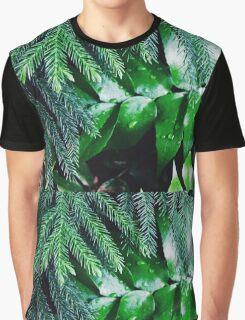 Dark Greenery Graphic T-Shirt
