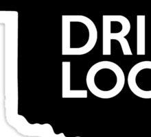 Oklahoma Drink Local OK Sticker