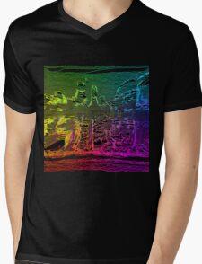 Trippy #Drunk  Mens V-Neck T-Shirt