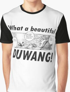 What a Beautiful Duwang! -  Jojo's Bizarre Adventure Graphic T-Shirt