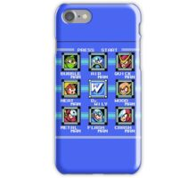 Mega Man 2 - Stage Select iPhone Case/Skin