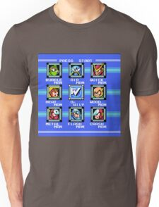 Mega Man 2 - Stage Select Unisex T-Shirt