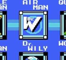 Mega Man 2 - Stage Select Sticker
