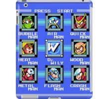 Mega Man 2 - Stage Select iPad Case/Skin