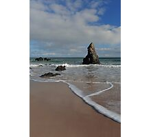 Sea Foam on Sango Bay Photographic Print