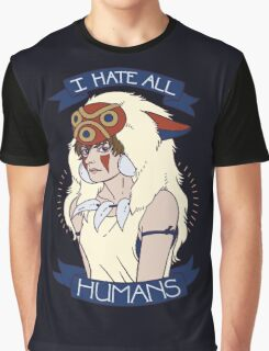 I Hate All Humans Graphic T-Shirt