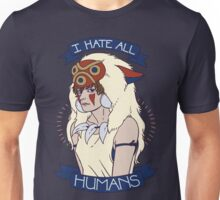 I Hate All Humans Unisex T-Shirt
