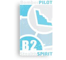 Stealth Spirit Metal Print