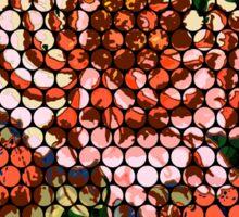 Porcelain Orange Rose Sticker