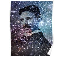 Nikola Tesla Star Mind Very Large Poster Poster
