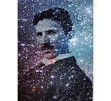 Nikola Tesla Star Mind Very Large Poster Photographic Print