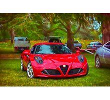 Alfa Romeo 4C Photographic Print