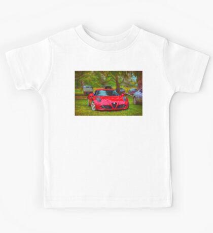 Alfa Romeo 4C Kids Tee