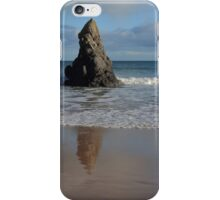 Reflections in Sand on Sango Bay iPhone Case/Skin