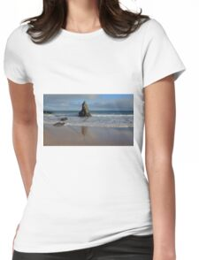 Reflections in Sand on Sango Bay Womens Fitted T-Shirt