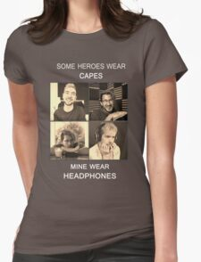 Markiplier and Jacksepticeye: Heroes Womens Fitted T-Shirt