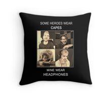 Markiplier and Jacksepticeye: Heroes Throw Pillow
