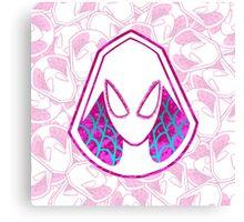 Lovely Neighborhood Spider-Gwen Canvas Print