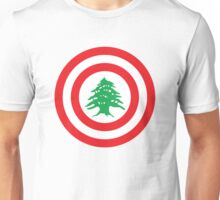 Captain Lebanon Unisex T-Shirt