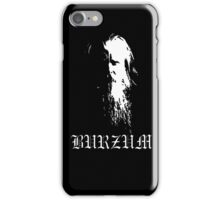 Burzum - Varg Vikernes iPhone Case/Skin