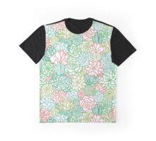 Succulent Sketches Graphic T-Shirt