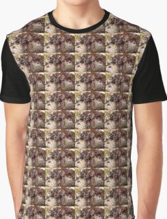 Brown Jelly Fungus    (Auricularia auricular-judae)  Graphic T-Shirt