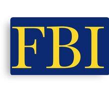 FBI Canvas Print