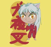Chibi Chibi Inuyasha One Piece - Short Sleeve