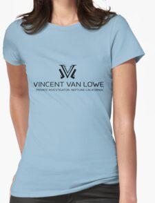 VINNIE VAN LOWE Womens Fitted T-Shirt