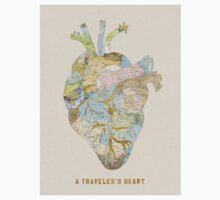 traveler's heart Kids Tee