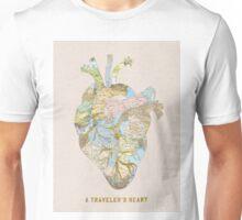 traveler's heart Unisex T-Shirt